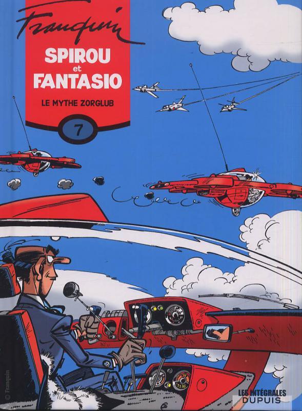 Spirou et Fantasio T7 : Le mythe Zorglub (1), bd chez Dupuis de Franquin, Greg, Jidéhem