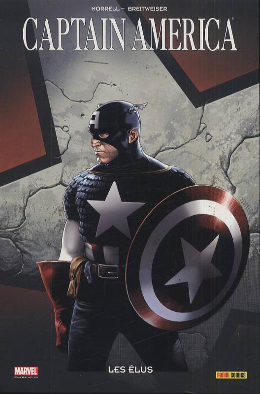 Captain America – 100% Marvel, T3 : Les élus (0), comics chez Panini Comics de Morrell, Breitweiser, Reber