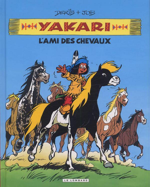 Yakari T1 : L'ami des chevaux (0), bd chez Le Lombard de Job, Derib, Dominique
