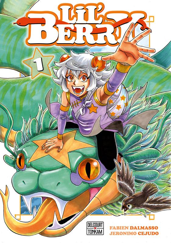Lil'Berry T1, manga chez Delcourt Tonkam de Dalmasso, Cejudo