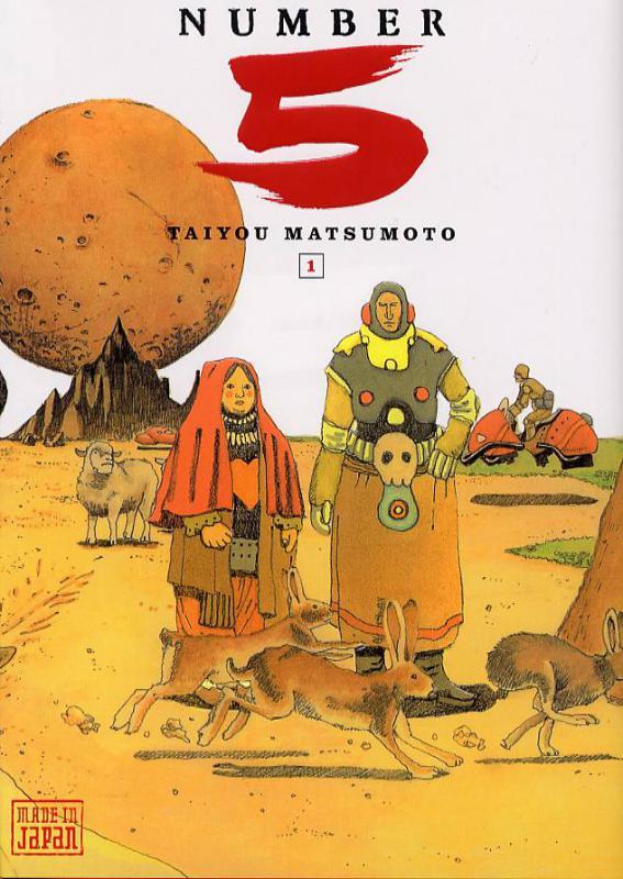 Number 5 T1, manga chez Kana de Matsumoto