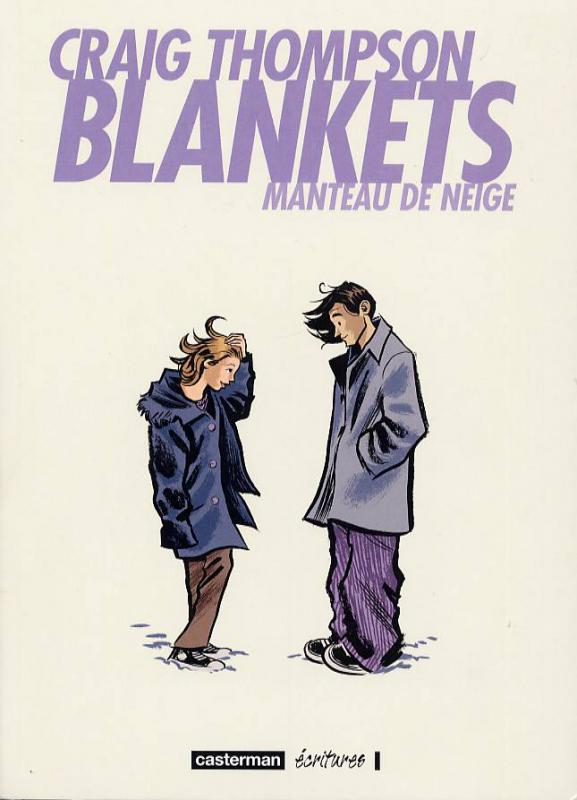 Blankets : Manteau de neige (0), comics chez Casterman de Thompson