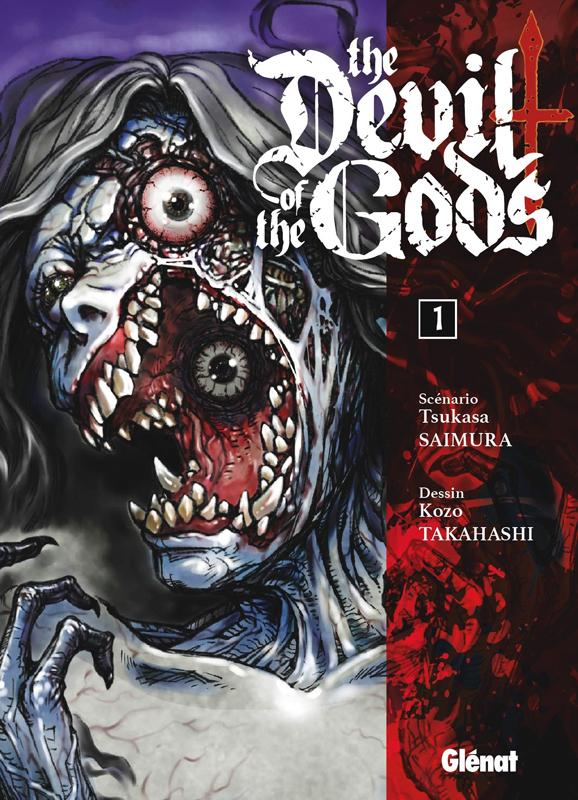 The devil of the gods T1, manga chez Glénat de Saimura, Takahashi