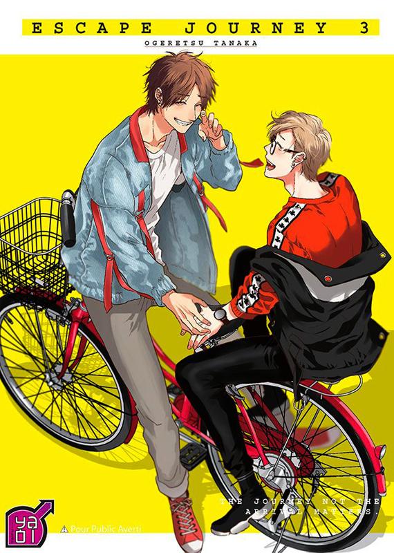 Escape journey T3, manga chez Taïfu comics de Ogeretsu