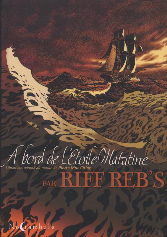 À bord de l'étoile Matutine, bd chez Soleil de Riff Reb's
