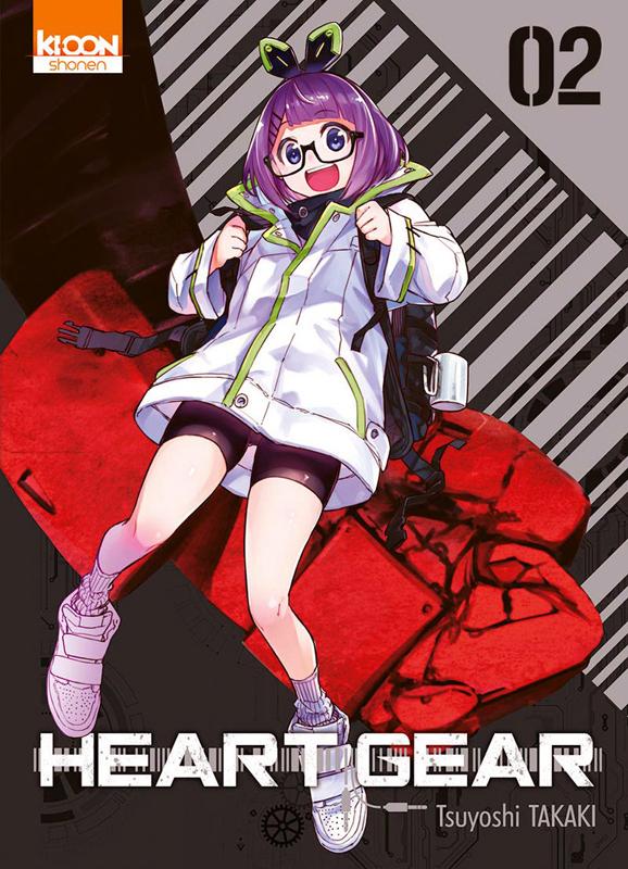 Heart gear T2, manga chez Ki-oon de Takaki