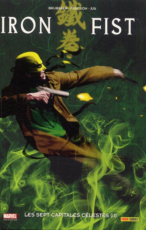 Iron Fist (2007) T3 : Les sept capitales célestes (II) (0), comics chez Panini Comics de Fraction, Brubaker, Pulido, Allred, Olazaba, Mann, Heath, Djurdjevic, Larosa, Evans, Kano, Zonjic, Aja, Breitweiser, Dragotta, Gaudiano, Hollingsworth, Allred, Mounts, Andrews