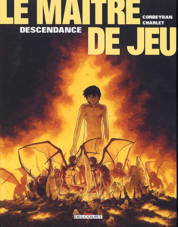Le maître de jeu T4 : Descendance (0), bd chez Delcourt de Corbeyran, Charlet