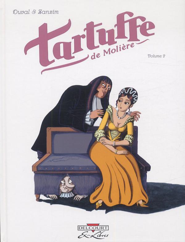 Tartuffe, de Molière T2, bd chez Delcourt de Duval, Zanzim, Hubert