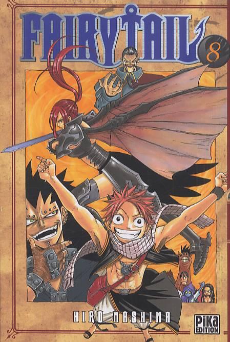 Fairy Tail T8, manga chez Pika de Mashima