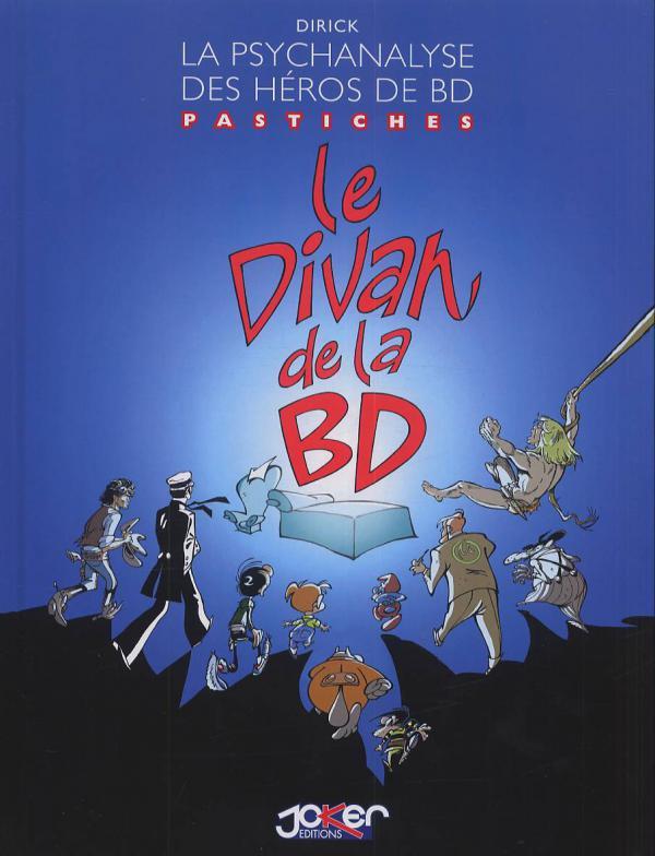 Le divan de la BD, bd chez Joker de Dirick, Robin