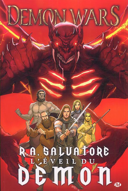 Demon Wars T1 : L'éveil du démon (0), comics chez Milady Graphics de Dabb, Salvatore, Seeley