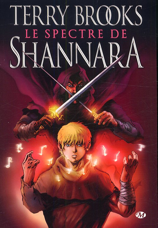 Spectre de Shannara, comics chez Milady Graphics de Napton, Brooks, Edwin