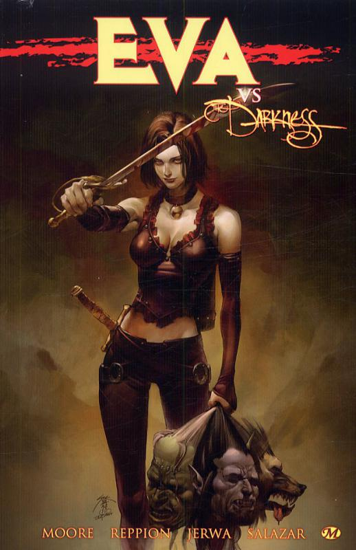 Eva : Eva vs the Darkness (0), comics chez Milady Graphics de Reppion, Moore, Jerwa, Salazar