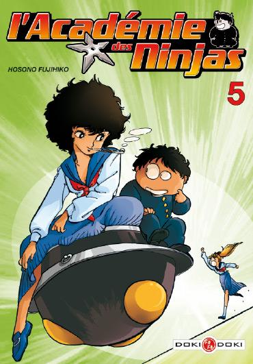 L'académie des Ninjas T5, manga chez Bamboo de Hosono