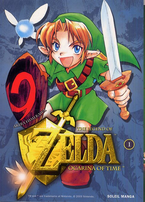 The legend of Zelda - Ocarina of time – 1e édition, T1, manga chez Soleil de Himekawa
