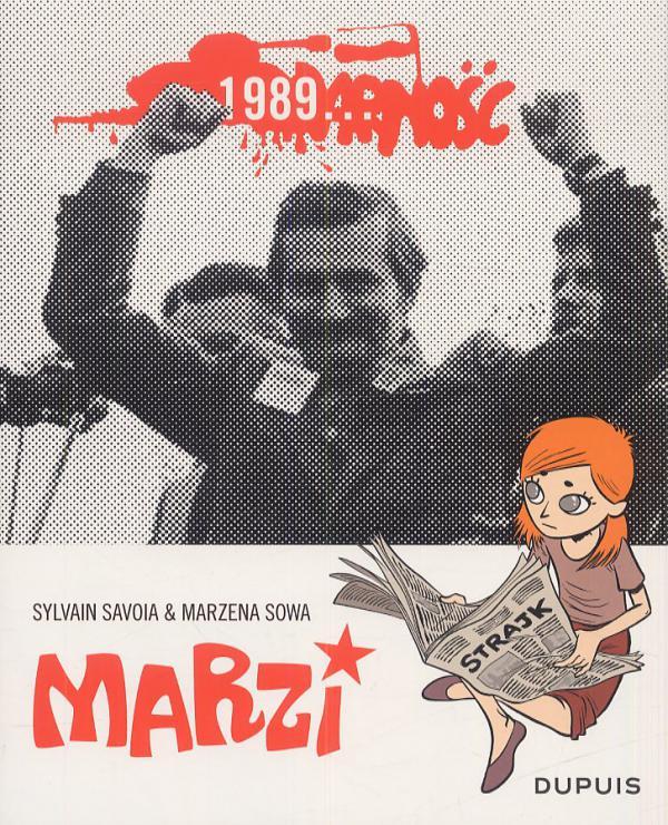 Marzi T2 : 1989... (0), bd chez Dupuis de Sowa, Savoia