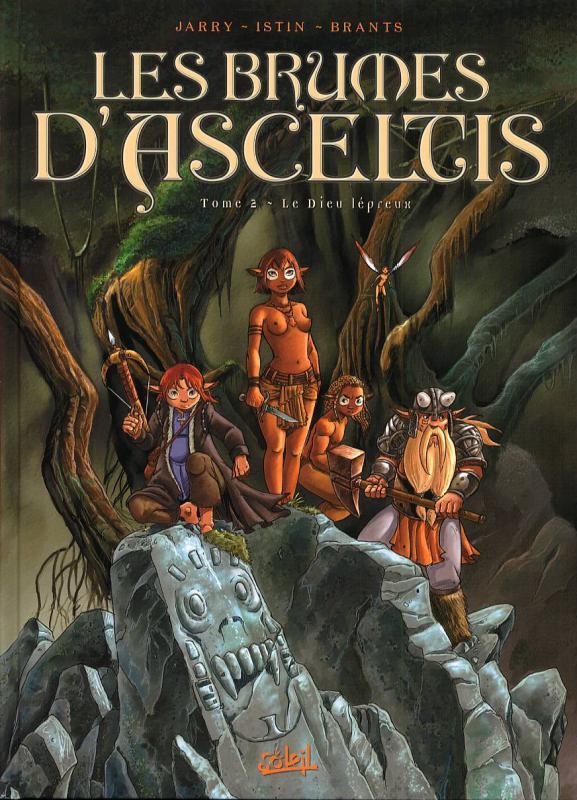 Les brumes d'Asceltis – cycle 1, T2 : Le dieu Lépreux (0), bd chez Soleil de Janry, Istin, Brants
