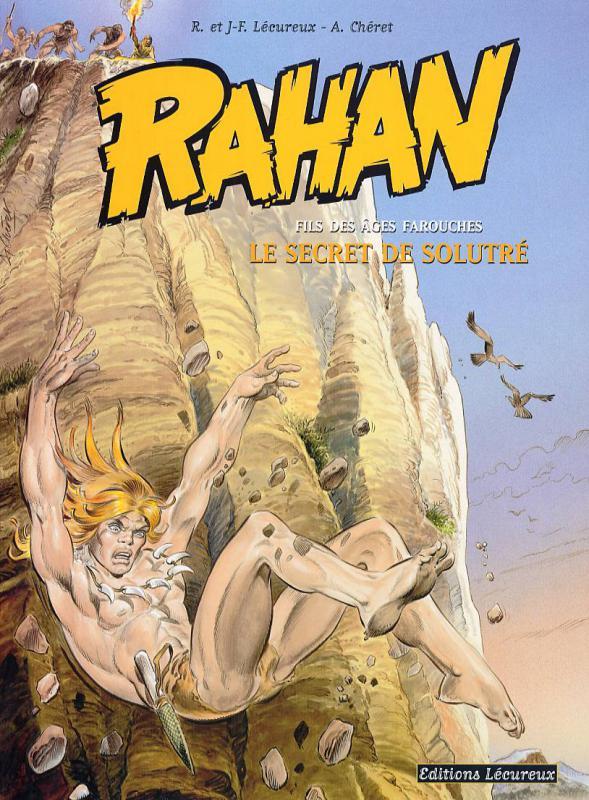 Rahan T5 : Le secret de Solutré (0), bd chez Lecureux de Lecureux, Cheret, Cheret