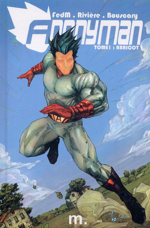 Anonyman T1 : Abricot (0), comics chez Merluche Comics de Bouscary, Rivière, FedM, Mur, Rocafort