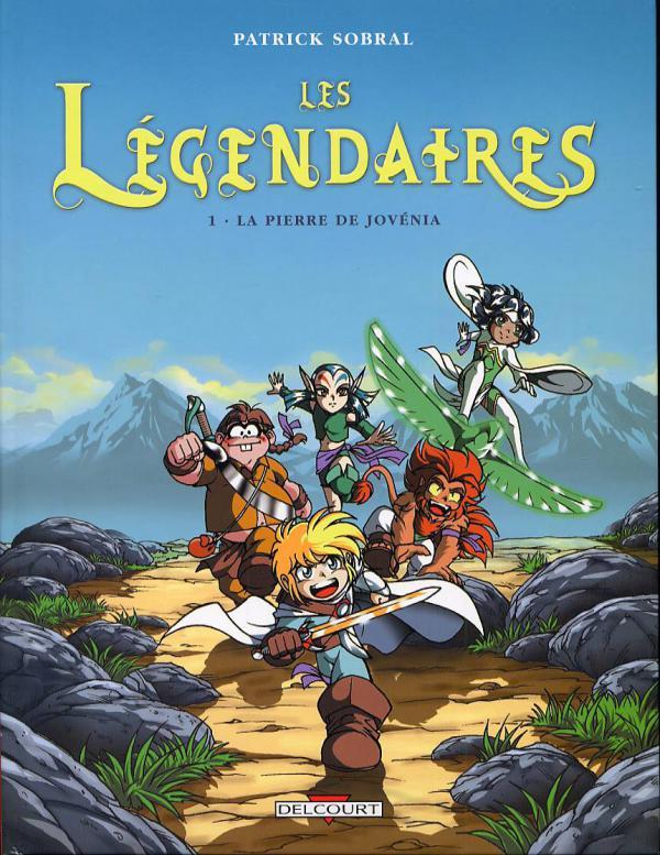 Les Légendaires T1 : La Pierre de Jovénia (0), bd chez Delcourt de Sobral