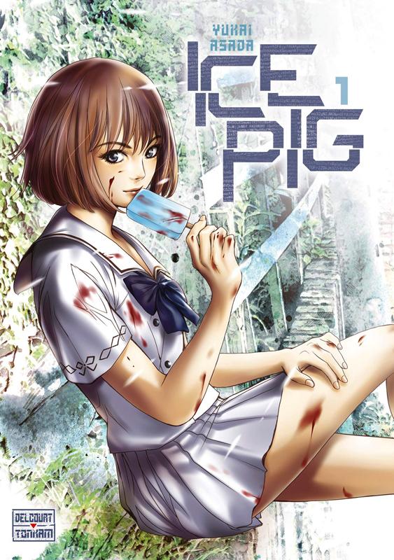 Ice pig T1, manga chez Delcourt Tonkam de Asada