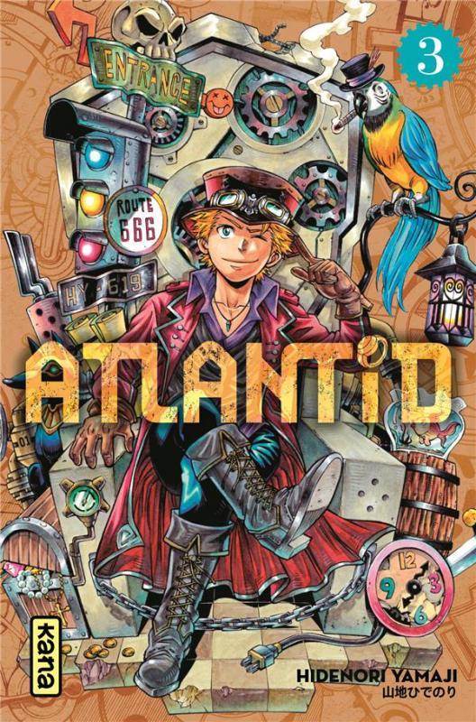 Atlantid T3, manga chez Kana de Yamaji