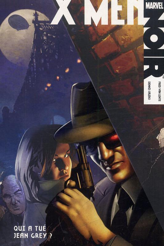 Marvel Noir – X-Men, T1 : Qui a tué Jean Grey ? (0), comics chez Panini Comics de Van Lente, Calero
