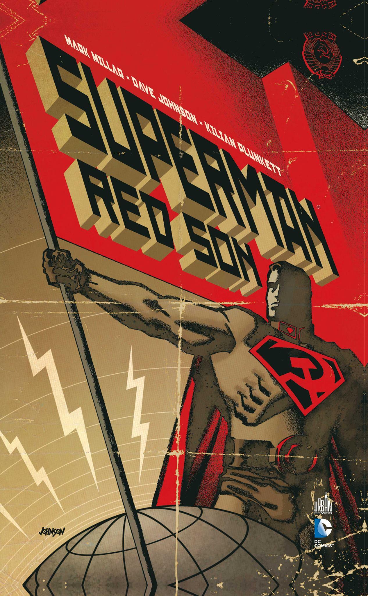 Superman - Red Son, comics chez Urban Comics de Millar, Johnson, Plunkett, Mounts