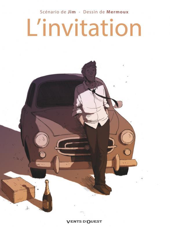 L'invitation, bd chez Vents d'Ouest de Jim, Mermoux