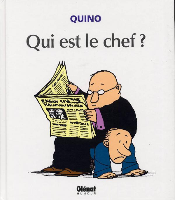 Qui est le chef ?, comics chez Glénat de Quino