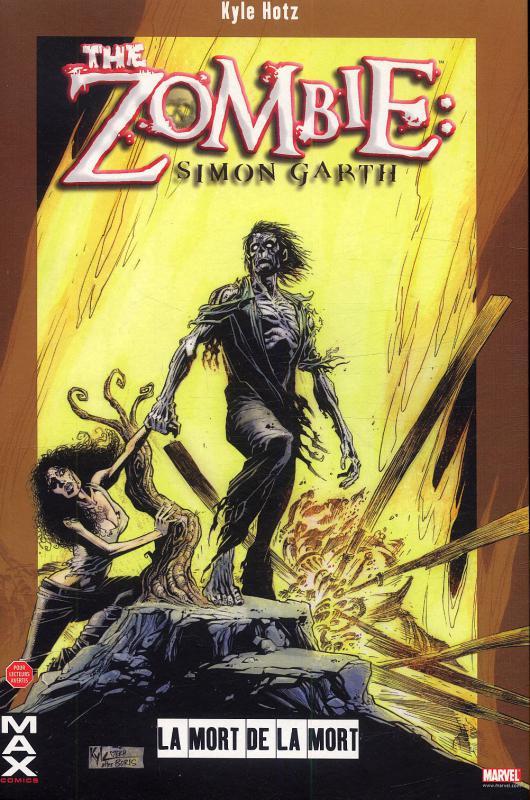 The zombie - Simon Garth : La mort de la mort (0), comics chez Panini Comics de Powell, Hotz, Brown