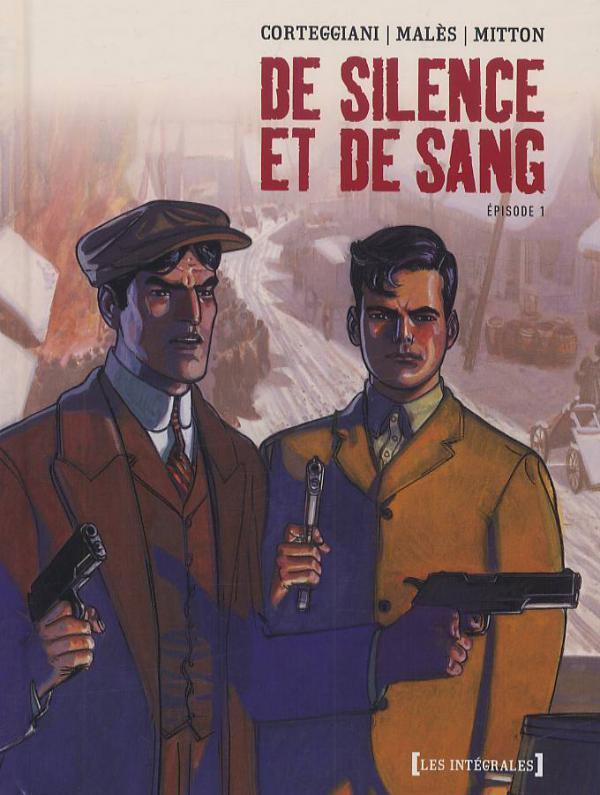 De silence et de sang T1, bd chez Glénat de Corteggiani, Males, Mitton, Guénard