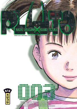 Pluto T3, manga chez Kana de Tezuka, Urasawa