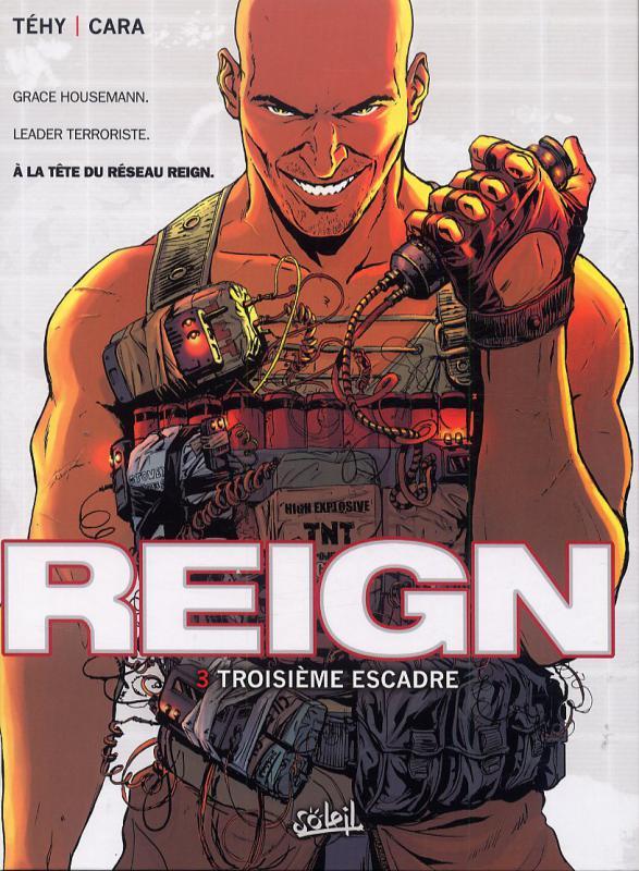 Reign T3 : Troisième escadre (0), bd chez Soleil de Tehy, Cara, Lerolle