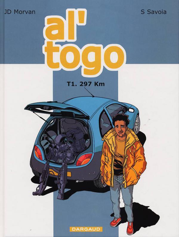 Al'togo T1 : 297 Km (0), bd chez Dargaud de Morvan, Savoia, Color Twins