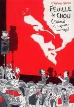 Feuille de chou T2 : Journal d'un après tournage (0), bd chez Delcourt de Sapin