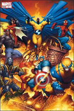 The New Avengers (vol.1) T1 : Chaos (0), comics chez Panini Comics de Bendis, Finch, Reber, Ponsor, Powell, d' Armata, Quesada