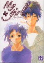 My girl  T1, manga chez Kazé manga de Sahara
