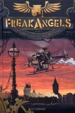 Freak Angels T2, comics chez Le Lombard de Ellis, Duffield