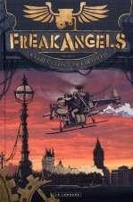 Freak Angels T2, comics chez Le Lombard de Ellis, Duffield