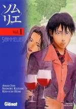 Sommelier T1, manga chez Glénat de Hori, Araki, Kaitani