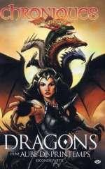 Chroniques de Dragonlance T4 : Dragons d'une aube de printemps - 2ème partie (0), comics chez Milady Graphics de Weis, Dabb, Hickman, Perez, Gopez, Jimenez, Guardiet, Chong