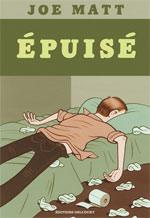 Epuisé, comics chez Delcourt de Matt