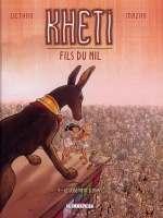 Kheti, fils du nil T4 : Le jugement d'osiris (0), bd chez Delcourt de Dethan, Mazan