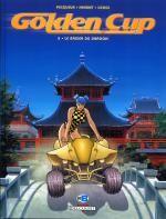 Golden Cup T5 : Le baiser du dragon (0), bd chez Delcourt de Pecqueur, Henriet, Usagi, Manchu