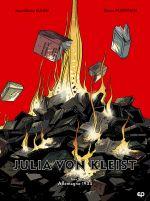 Julia Von Kleist T2 : Allemagne 1933 (0), bd chez EP Editions de Djian, Marivain, Tumelaire