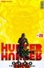 Hunter x Hunter T29, manga chez Kana de Togashi