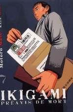 Ikigami Préavis de mort  T7, manga chez Kazé manga de Mase