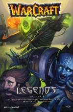 Warcraft Legends  T5, manga chez Soleil de Golden, Randolph, Fredericksen, Knaak, Simonson, Awano, Ten pas, Kawakami, Kim, Kye